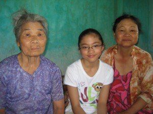 Her 85-year-old grandmother, Marissa and Hoi