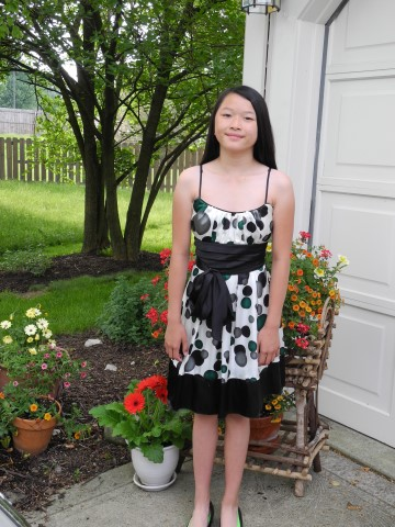 Claire 6th Grade Graduation