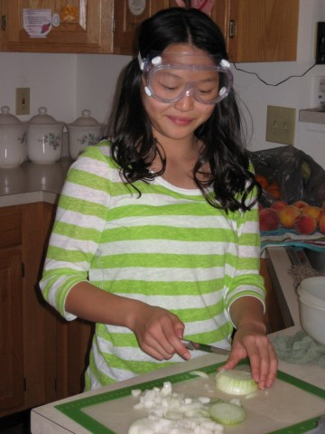 Claire's Onion Goggles